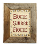Large Home Sweet Home Royalty Free Stock Photography