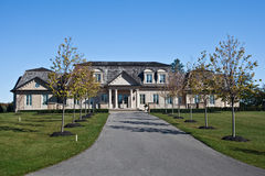 Large Homes Stock Photography