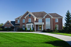 Large Homes Royalty Free Stock Image