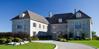 Large Homes Royalty Free Stock Photos