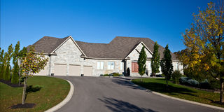 Large Homes Royalty Free Stock Photo