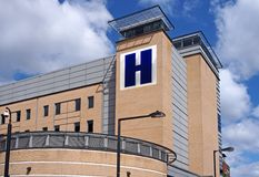 Large hospital building Royalty Free Stock Photo