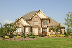 Large House Royalty Free Stock Photography
