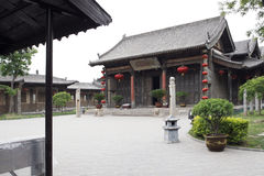 Large house of China Stock Photography