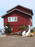 Large house with a view, Astoria Oregon. royalty free stock photo