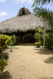 Large hut Stock Photo