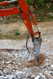 Large hydraulic Jackhammer Stock Photography