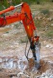 Large hydraulic Jackhammer Stock Photos