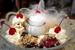 Large ice cream Royalty Free Stock Photo