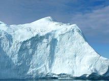 Large Iceberg 1. Large iceberg in the sunshine, Greenland coast Royalty Free Stock Image