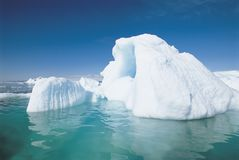 Large Iceberg Stock Image