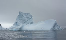 Large Iceberg in Antarctic Sea royalty free stock photos