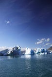 Large icebergs. Floating on Jokulsarlon lagoon Stock Images