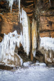 Large Icicles Stock Photos