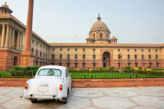 Free Large Imperial Building In New Delhi. India. Royalty Free Stock Photography - 12443227