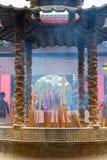 Large incense burne Royalty Free Stock Images