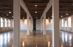 Large indoor building interior Stock Photo