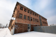 Large industrial building Royalty Free Stock Photos