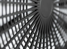 Large industrial fan close-up. Abstract background royalty free stock image
