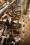 Large industrial generator closeup Stock Image