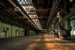 Large industrial interior Stock Image