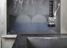 Large industrial kitchen dishwasher Stock Images