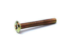 Large Industrial Screw Stock Image