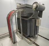 Large industrial transformer Stock Photography