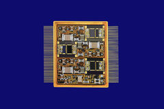 Large integrated circuit Royalty Free Stock Photography