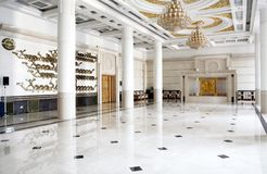 A large interview hall. A large-scale interview hall in the Great Hall of the people. In Beijing China Stock Photography
