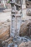 Large jackhammer Stock Photography