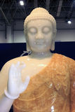 Large jade buddha statue Stock Photo