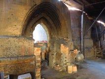 Large Kiln ovens for making bricks Royalty Free Stock Image