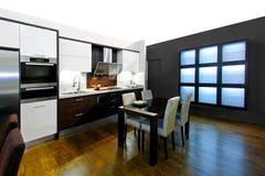 Large kitchen Stock Photography