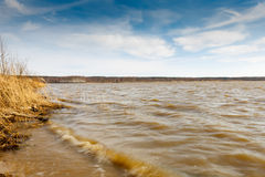 Large lake Royalty Free Stock Photography