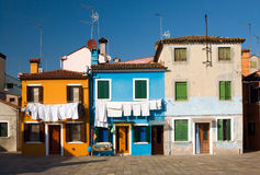 Large laundry, Italy Stock Photo