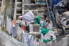 Large laundry Mumbai Royalty Free Stock Image
