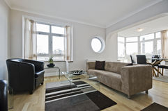 Large Living Room Stock Image
