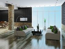 Large livingroom Stock Photo