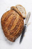 Large loaf of bread Royalty Free Stock Image
