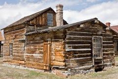 Large Log House Royalty Free Stock Image