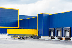 Large logistic warehouse Royalty Free Stock Photos