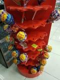 Large lollipops Stock Images