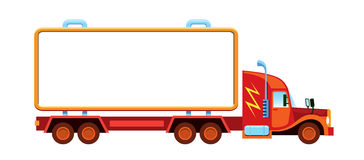 Large lorry Royalty Free Stock Photography