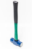 Large lump Blue hammer steel Stock Photography