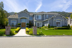 Large Luxurious Suburban Home For The Executive With A Family Stock Photo