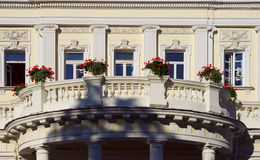 Large and luxury balcony Royalty Free Stock Images