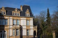 Large luxury house Stock Images