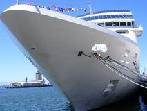 Large luxury liner Stock Photo