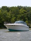 Large luxury speed boat Royalty Free Stock Photo